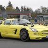 メルセデス初のEVスーパーカー、開発テスト車両をスクープ!