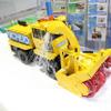 こうなっていたのか! ワンオフのRC除雪車で構造が分かった…日本除雪機製作所【ハイウェイテクノ2017】