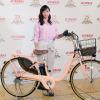 ヤマハ PAS 最新モデル発表会、タレントの藤本美貴さんが登場し「もう1台欲しい!」