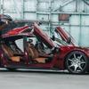 フィスカーの自動運転EVスポーツ、スーパーカードアを採用…CES 2018で公開予定