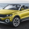 VW、小型オープンSUVを2018年内に市販へ…Tクロス ブリーズ