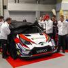 【WRC】トヨタが2018年仕様 ヤリスWRC を公開…主な改良点はフロントの空力と冷却系
