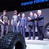 「大口径タイヤがトレンド」東洋ゴム 清水社長…東京オートサロン2018