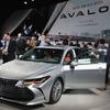 トヨタ アバロン、新型のハイブリッドは歴代最高燃費…デトロイトモーターショー2018