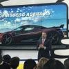 447km/hを支えるタイヤ、ミシュランが量産車世界最速のケーニグセグに純正装着…デトロイトモーターショー2018で発表