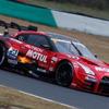 """【SUPER GT】日産が2018年シーズンの陣容を発表…GT500クラスのGT-Rは今季も4台、ただし""""見直し事項""""は多め"""