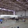 エアバス最大・最新、A350-1000 が東京羽田に着陸