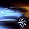 VWの最小SUV、『T-Roc』にカブリオレ設定へ…ティザースケッチ