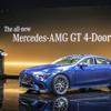 メルセデスAMG GT クーペ に最新コネクト、スマホ連携強化…ジュネーブモーターショー2018