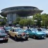 温泉施設に旧車70台が集合…しぶかわ昭和の車展示会inスカイテルメ渋川