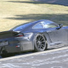 ポルシェ 911GT3 新型、ターボではなく自然吸気か…ニュルで全開走行!