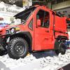 モリタの小型オフロード消防車、ベスト100選出…グッドデザイン2018