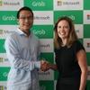 マイクロソフト、配車グラブに戦略的出資…次世代モビリティサービス展開へ