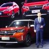 日産合弁のヴェヌーシアが新型SUV『T60』を発表、最先端のコネクト技術…広州モーターショー2018