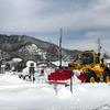 5Gを使って除雪車を支援、KDDIが白馬村で実証実験へ