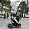 電動車いす WHILL で横浜を回遊…シェアリング実証実験「未来モビリティショーケース」