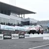 【モースポフェス鈴鹿】WRCパフォーマンスでヤリスの飛行距離は?