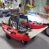 硬質ウレタンの水害救助支援ボート…ジャパンボートショー2019