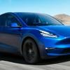 テスラが電動コンパクトSUV、『モデルY』発表…航続483kmは電動SUV最長