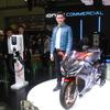 キムコ、台湾からコウ会長がフォトセッションでサプライズ登場…東京モーターサイクルショー2019