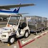 佐賀空港で自動走行するトーイングトラクターの実証を開始…ANA