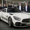 メルセデスAMG GT 改良新型、量産第一号車の585馬力「GT Rプロ」がラインオフ
