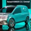 ルノー カングー 次期型、EVコンセプト公開…市販車は2020年発表へ