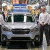 スバル、米国生産400万台を達成…日本国外唯一の生産拠点
