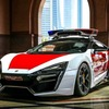 逃走は不可能…4.5億円のハイパーパトカー、アブダビ警察が導入