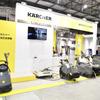 ケルヒャー、整備工場の床掃除や汚れた座席のクリーニングをプッシュ…オートサービスショー2019
