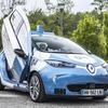 ルノーの自動運転EV、スーパーカードア採用…スマホで予約のライドシェア実験へ