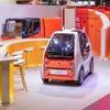ルノー、EZ-POD 発表…ファースト&ラストマイルの小型自動運転EV提案