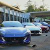 フェラーリにランボルギーニ、フィアットも、大使館にイタリア企業が集合…特別な「500X」も