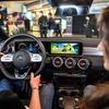 メルセデスベンツ CLA のデジタルコクピットでゲーム、操作はハンドルとアクセル&ブレーキ…eスポーツ開催
