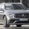 メルセデスベンツ GLC 改良新型に最強の「AMG63」、510馬力で最高速280km/h…欧州発売