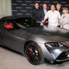 トヨタ スープラ 新型、量産第一号車を引き渡し…新車価格の約40倍