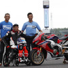 【鈴鹿8耐】青木拓磨、22年ぶりに鈴鹿をバイクで走る 「障がい者でもできることを伝えたい」