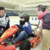 とんでもなくリアハッピーな氷上EVカートを楽しむ…日本EVクラブの提案