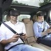 車両の動きにゲームが連動…ポルシェ、後席乗員向けVRエンターテインメント開発