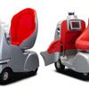 ZMPの自律型新モビリティ「Robocar Walk」、三井化学のバイオプラスチック原料を採用