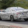"""BMW 4シリーズクーペ、開発車両がニュルに出現…""""ミニ8シリーズ""""となるか"""