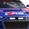 【鈴鹿10時間】アウディ勢、「RSモデル誕生25周年」ロゴ&ナンバー車など3台のR8 LMSで臨戦