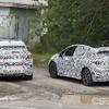 VWの電動SUV、車名は「ID.4X」か…ID.3との同時テストを目撃
