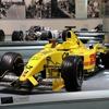 佐藤琢磨のF1マシン「ジョーダン・ホンダEJ12」、新名神 鈴鹿PAに登場