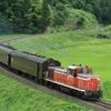 飯山線に旧型客車の臨時列車…DD16形牽引で長野-長岡間を1往復 10月5・6日