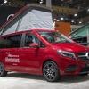 メルセデスベンツ Vクラス、キャンピングカーにも改良新型…「マルコポーロ」を欧州発表