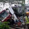 京急本線で快速特急とトラックが接触…京急川崎-上大岡間で運行見合せ 9月5日中の再開は困難か?