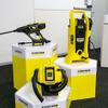 ケルヒャージャパン、最新バッテリーテクノロジーを搭載した洗浄機2機と、湿乾両用クリーナー1機を新たにラインナップ