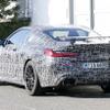 BMW M8クーペ に謎のウィング…700馬力の高性能モデル「CS」か