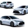 【トヨタ カローラ 新型】モデリスタエアロ、テーマは「ハイコントラストストリームライナー」
